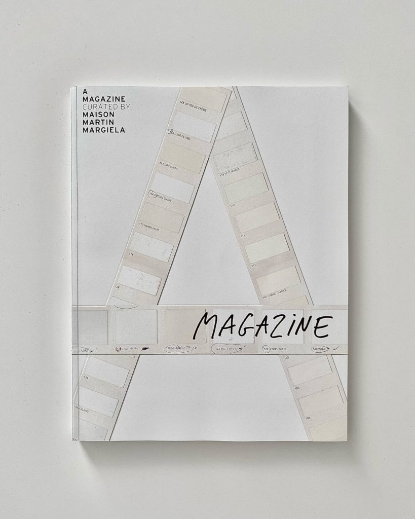 a magazine curated by maison martin margiela 2021 cover